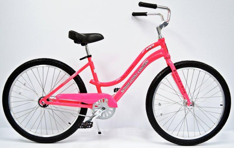 Pink Beach Girl