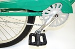 "Alloy Cranks, ""Rust Buster"" Chain & Platform Pedals"