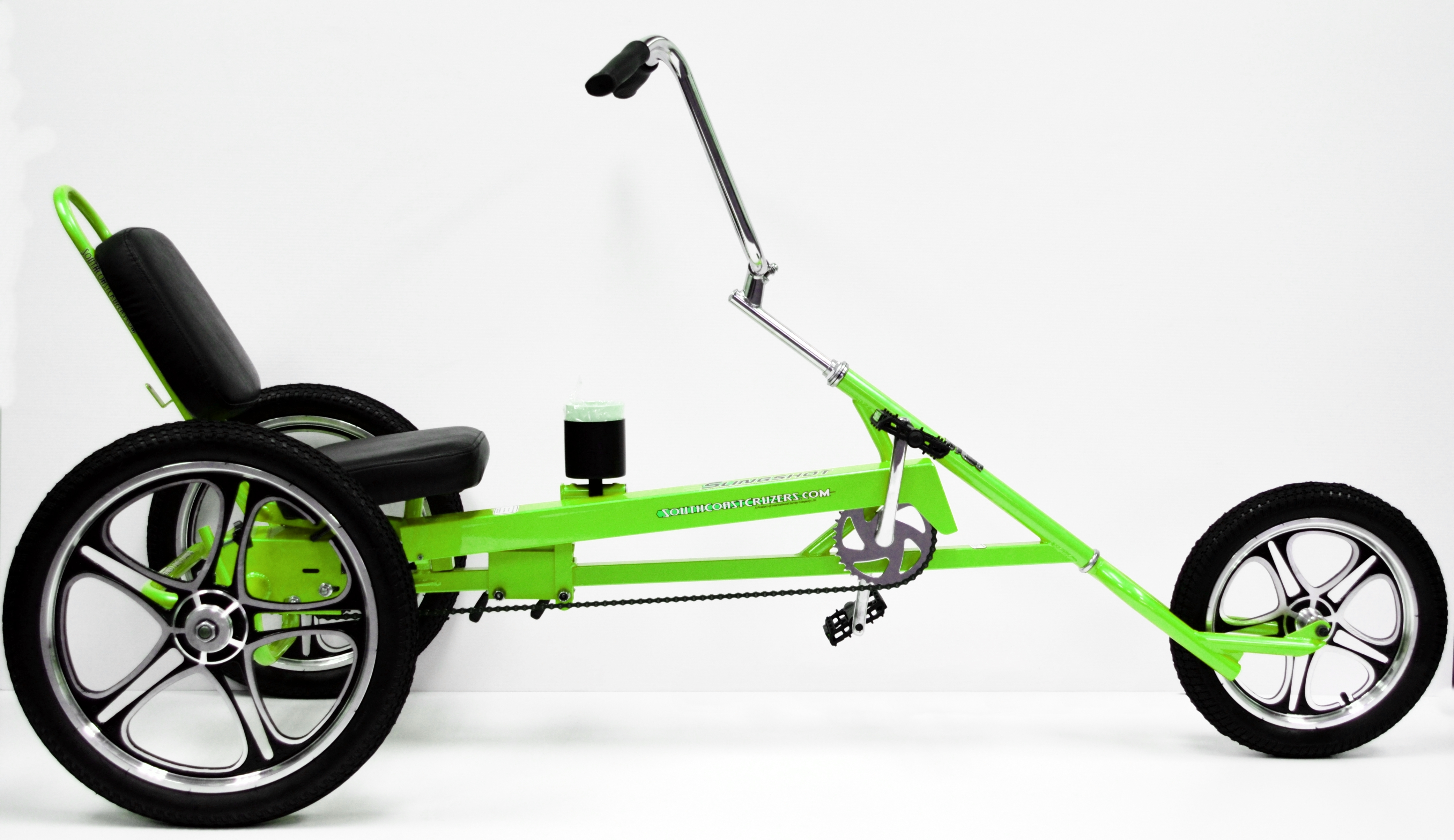 slingshot recumbent trike fat tire bikes alloy beach. Black Bedroom Furniture Sets. Home Design Ideas
